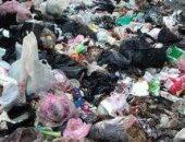 قارئ يشكو من تراكم القمامة فى الشوارع الرئيسية بقرية الكرامة مركز أجا