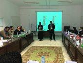 رئيس جامعة دمنهور يفتتح الدورة التدريبية للنشر الدولى للبحوث العلمية