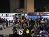 الهلال الاحمر السورى والامم المتحدة يوزعان المساعدات الفرنسية فى الغوطة