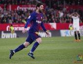 فيديو.. ميسي ينقذ برشلونة من أول خسارة أمام إشبيلية بالدوري الإسباني