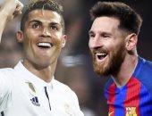 ميسي ورونالدو يمنحان الأندية الإسبانية تفوقا تاريخيا فى صراع الكرة الذهبية