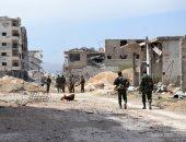 صور.. الجيش السورى يحكم سيطرته على بلدة جوبر بالغوطة بعد طرد المسلحين منها