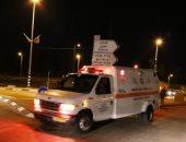 إصابة 4 من جنود الاحتلال بحادث تصادم شاحنة بألية إسرائيلية فى الخليل بفلسطين