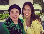 """مريم أمين تشعل مواقع التواصل الاجتماعى بصورة لها مع """"روقه"""" السينما المصرية"""