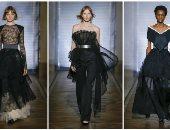 """بالتل المنقوش واللامع.. كولكشن دار الأزياء الفرنسية """"جيفينجى"""" لربيع 2018"""