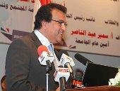 وزير التعليم العالى عن فاروق الباز: قدوة لشبابنا.. ونبيلة مكرم: نموذج يحتذى به (صور)