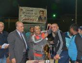 شركة ميناء القاهرة الجوى تكرم العاملين المشاركين فى دورة الكرة الخماسية