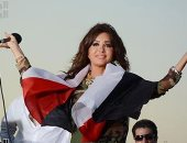لطيفة تنشر فيديو من كواليس حفلها فى شم النسيم لصالح صندوق تحيا مصر