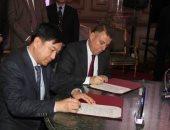 صور.. توقيع اتفاقية بين جامعتى عين شمس و فودان الصينية فى مجال الأورام