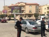صور.. شرطة المرافق تشن حملة لإزالة الإشغالات بشوارع وميادين القاهرة