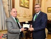 أمين عام البرلمان يلتقي نظيره العراقى لتعزيز العلاقات المشتركة