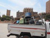 حملات مكثفة لرفع الإشغالات بأحياء القاهرة