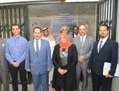 سمو الأمير نايف بن ثنيان آل سعود فى زيارة لكلية الصيدلة جامعة عين شمس