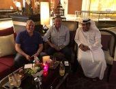 شاهد.. محمود الخطيب بعد خروجه من المستشفى فى دبى