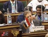 البرلمان العربى: تجاور مسجد الفتاح العليم وكاتدرائية ميلاد المسيح يعكس الثقافة المصرية