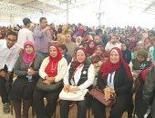 صور ..جمعية من أجل مصر تقيم حفل للأطفال الأيتام بالعاشر من رمضان