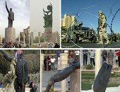 """15 عاما على """"سقوط بغداد"""".. القوات الأمريكية والبريطانية تستهدف العاصمة العراقية بـ1000 طلعة جوية سميت بـ""""الصدمة والرعب"""".. وأول معركة ضد الحرس الجمهورى تقع نهاية مارس 2003.. والمارينز أسقطوا تمثال صدام حسين"""