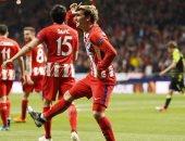 موعد مباراة اتلتيكو مدريد وسبورتنج لشبونة فى الدوري الأوروبى