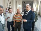 رئيس جامعة الأزهر يتفقد كليات قطاع الدراسة ويتابع تجديدات قاعة محمد عبده