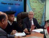محافظ جنوب سيناء يعقد اجتماعا أمنيا مع رؤساء المدن استعدادا لأعياد الربيع