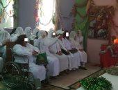 سور السجن لا يحجب فرحة.. السجينات الأقباط يحتفلن بعيد القيامة.. صور