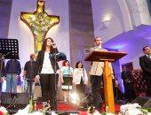 قداس عيد القيامة المجيد بالكنيسة الإنجيلية بحضور وزراء وشخصيات عامة