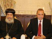 محافظ قنا يهنئ مطرانية الأقباط الأرثوذكس بعيد القيامة المجيد
