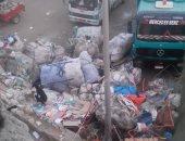 شكوى من وجود مقلب قمامة فى منطقة صبحى حسين بمدينة بدر