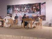 """صور .. قصر ثقافة فخر الدين بأسوان يستضيف العرض المسرحى """"ذو الوجهين"""""""