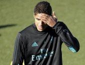 ريال مدريد مهدد بغياب فاران أمام أياكس فى دورى أبطال أوروبا