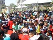 محافظة القاهرة تحتفل بيوم اليتيم فى حديقة الميريلاند