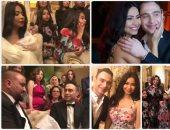 زفاف حسام حبيب وشيرين عبدالوهاب بحضور الأهل والأصدقاء