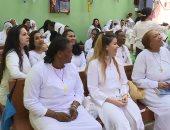 صور.. قداس السجينات المسيحيات داخل سجن النساء بالقناطر