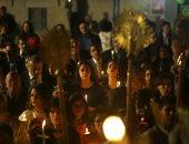 صور.. المسيحيون الفلسطينيون يواصلون احتفالاتهم بعيد القيامة فى غزة