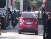 سيارات تجوب الشوارع وتحذر من إشعال اللمبى والحرائق فى شم النسيم بدمياط