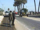 صور.. حملات نظافة بالبلينا وترميم شوارع المراغة وتجميل ودهانات بجهينه فى سوهاج