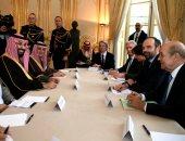 صور.. بدء جلسة مباحثات بين ولى العهد السعودى ورئيس الوزراء الفرنسى