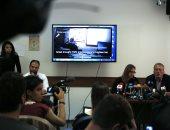 صور.. أسرة عهد التميمى تنظم مؤتمراً صحفيا لعرض انتهاكات الاحتلال أثناء التحقيق