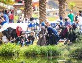 صور.. مدير حديقة الأورمان: استقبلنا 20 ألف زائر حتى الآن فى يوم شم النسيم
