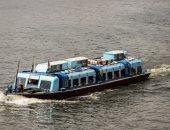 إقبال كبير على الأتوبيس النهرى بمرسى ماسبيرو وتنظيم رحلات للقناطر