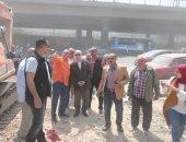 نائب محافظ القاهرة يتفقد منطقة مثلث ماسبيرو.. صور