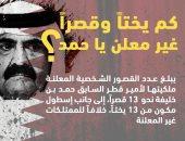 تعرف.. كم يمتلك حاكم قطر السابق من اليخوت والقصور فى الخفاء؟