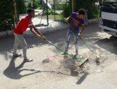 صور.. أزمة القمامة تتفاقم فى أسوان.. وحملات الشباب والنشء آخر الحلول