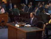 """كثرة اعتذارات """"مارك"""" تثير سخطًا بين أعضاء الكونجرس خلال جلسة الاستماع"""