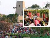الجيزة ترفع 45 طن قمامة من الحدائق بعد احتفالات شم النسيم