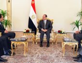 السيسي يؤكد لوزير خارجية قبرص حرص مصر على تعزيز التعاون المشترك