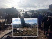 نجوم الفن ينعون ضحايا تحطم الطائرة العسكرية الجزائرية