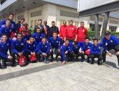 السفارة المصرية فى أنجولا تستقبل بعثة المنتخب لكرة الصالات