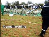مصادر جزائرية: الطائرة سقطت بعد اشتعال الجناح الأيمن وفشل عودتها للمطار