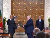"""مذكرة تفاهم بين جامعة عين شمس و""""بورتو"""" البرتغالية بحضور الرئيس السيسي - صور"""